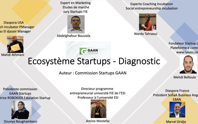 Ecosystème Startups Diagnostic 2020